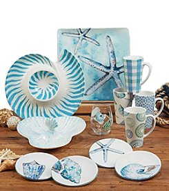 Certified International by Lisa Audit Sea Finds Dinnerware Collection