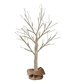 Order Home Collection® 2' Gold Glitter LED Tree