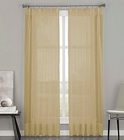 CHF Soho Voile Pinch Pleat Window Curtain
