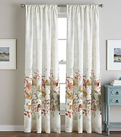CHF Watercolor Floral Window Curtain