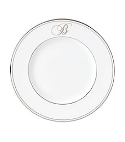 Lenox® Federal Platinum Monogram Script Accent Plate