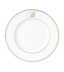 Lenox® Federal Gold Monogram Script Accent Plate