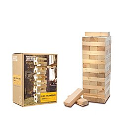 Refinery and Co. Wood Block Stacking Game