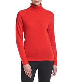Premise Cashmere® Soild Turtleneck Sweater