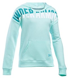 Under Armour® Girls' 7-10 Favorite Fleece Hoodie