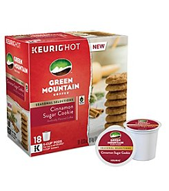 Keurig® Green Mountain Coffee® Cinnamon Sugar Cookie 18-ct. K-Cup Pods