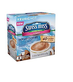 Keurig® Swiss Miss® Sensible Sweets Light Hot Cocoa 16-ct. K-Cup Pods