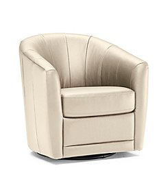 Natuzzi Editions® Devon Swivel Tub Chair