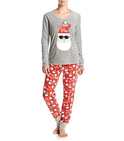 PJ Couture® Santa Pajama And Mask Set