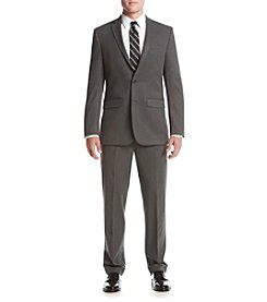 Van Heusen Men's Gray Stretch Suit Separates