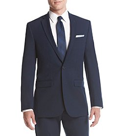 Van Heusen Men's Blue Stretch Suit Separate Jacket