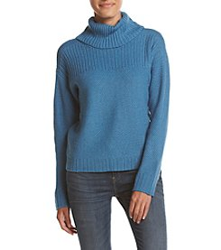 Jones New York® Cropped Square Shape Cowl Neck Sweater