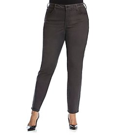 NYDJ® Plus Size Alina Faux Leather Leggings