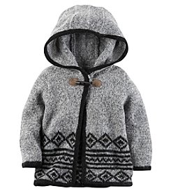 Carter's® Baby Girls' Hooded Sweater Poncho