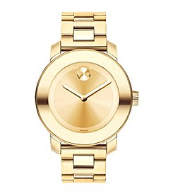 Movado® BOLD Women's Goldtone Champagne Dial Watch