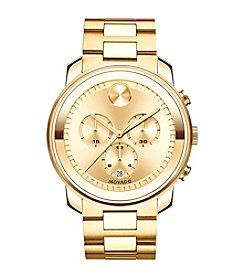 Movado Men's 44mm Bold® Goldtone Chronograph Watch