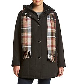 Breckenridge® Plus Size Bibby Coat