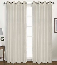 United Curtain Co. Herringbone Blackout Window Curtain