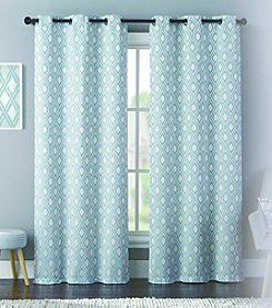 United Curtain Co. Mystique Grommet Window Curtain