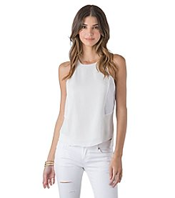 Standards & Practices Ashley Boxy Tank with Zip Back