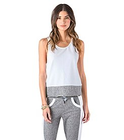 Standards & Practices Nicole Mesh Tank Top