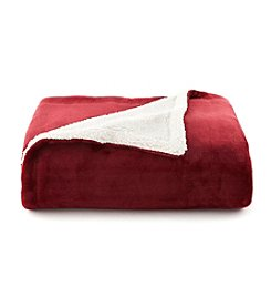 LivingQuarters Sherpa Throw