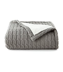 Living Quarters Sherpa Sweater Throw