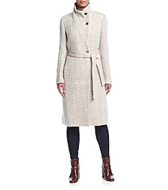 Ivanka Trump® Funnel Neck Wrap Coat