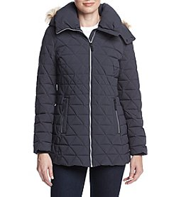 Marc New York Pyramid Quilted Puffer Down Coat