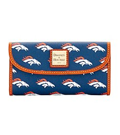 Dooney & Bourke® NFL® Broncos Continental Clutch