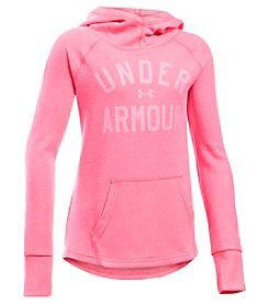 Under Armour® Girls' 7-16 Waffle Pullover Hoodie