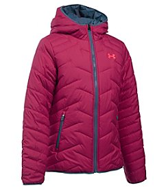 Under Armour® Girls' 7-16 Hooded ColdGear® Reactor Jacket