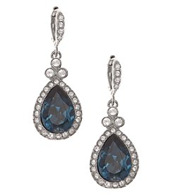 Givenchy® Pave Pear Drop Earrings