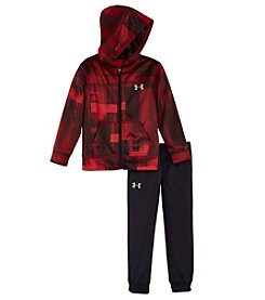Under Armour® Baby Boys 2-Piece Blast Symbol Hoodie Track Set
