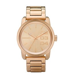 Diesel Goldtone Double Down 46 Watch