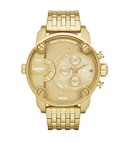 Diesel Goldtone Little Daddy Watch