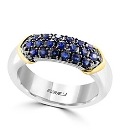 Effy® 925 Collection Sapphire Ring In Sterling Silver