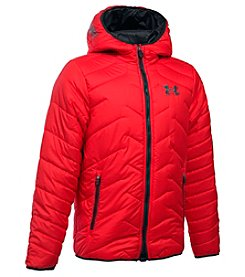 Under Armour® Boys' 8-20 Hooded ColdGear® Reactor Jacket