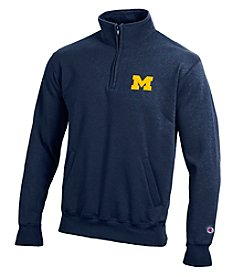 Champion® NCAA® Michigan Wolverines Men's Team 1/4 Zip Pullover