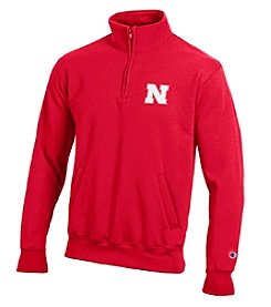 Champion® NCAA® Nebraska Cornhuskers Men's Team 1/4 Zip