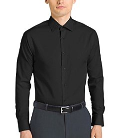 Calvin Klein Men's Big & Tall Steel Long Sleeve Button Down Dress Shirt