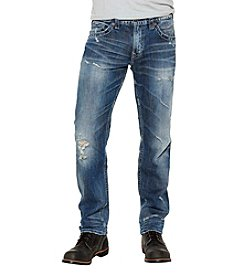 Silver Jeans Co. Men's Eddie Relaxed Fit Straight Jeans