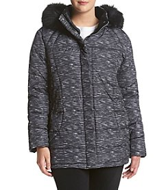 Calvin Klein Plus Size Box Quilted Down Jacket