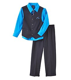 Nautica® Boys' 2T-7 3-Piece Vest Set with Tie
