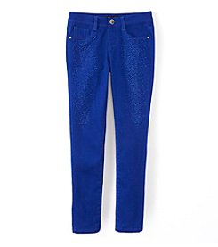Squeeze®p Girls' 7-16 Glittered Skinny Jeans