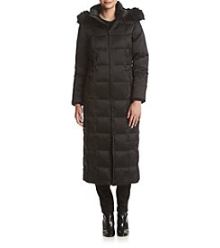 Forecaster Box Quilt Long Down Coat