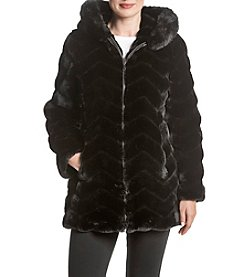Gallery® Faux Fur Coat