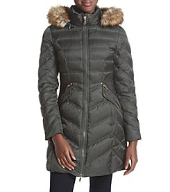 Laundry® Chevron Quilted Down Jacket