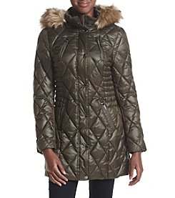 Laundry® Diamond Quilted Puffer Jacket