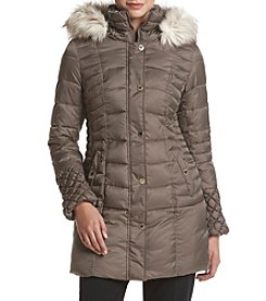 Betsey Johnson® Popcorn Quilted Puffer Coat